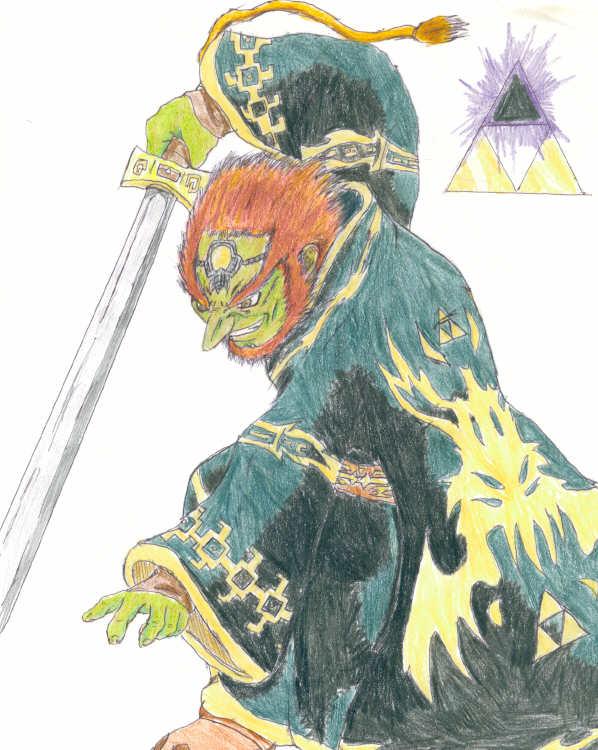 WW Ganon by Shadow-wolf