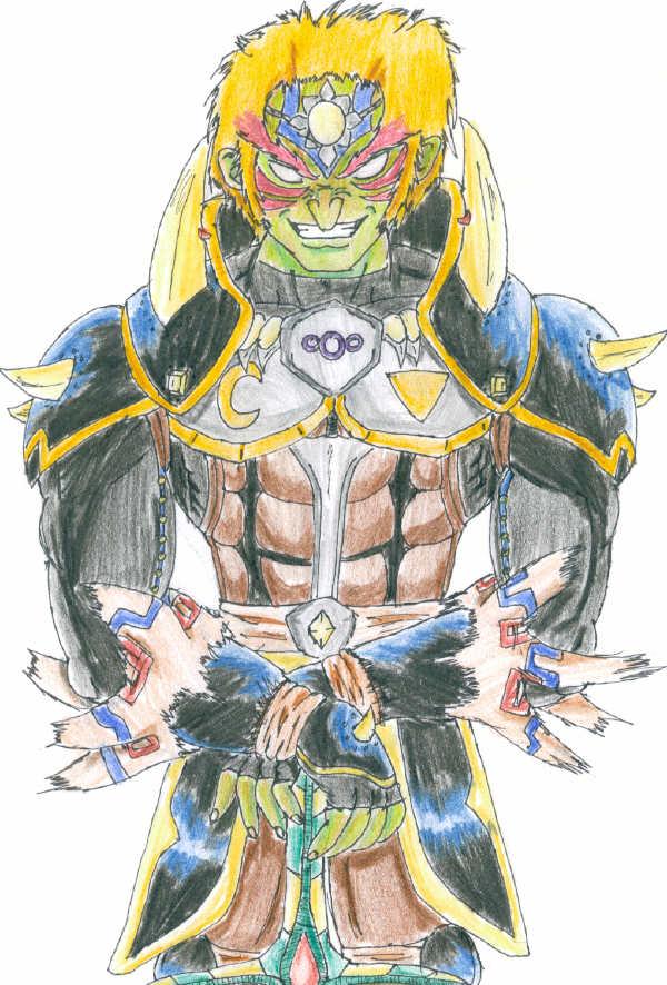 !Gerudo King Reborn: Oni Ganondorf! by Shadow-wolf