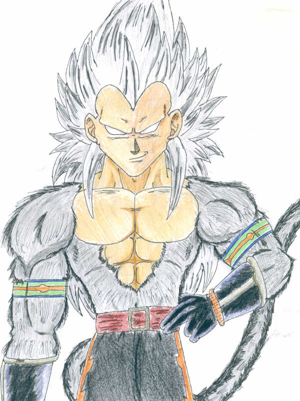 Super Saiyan 5?! by Shadow-