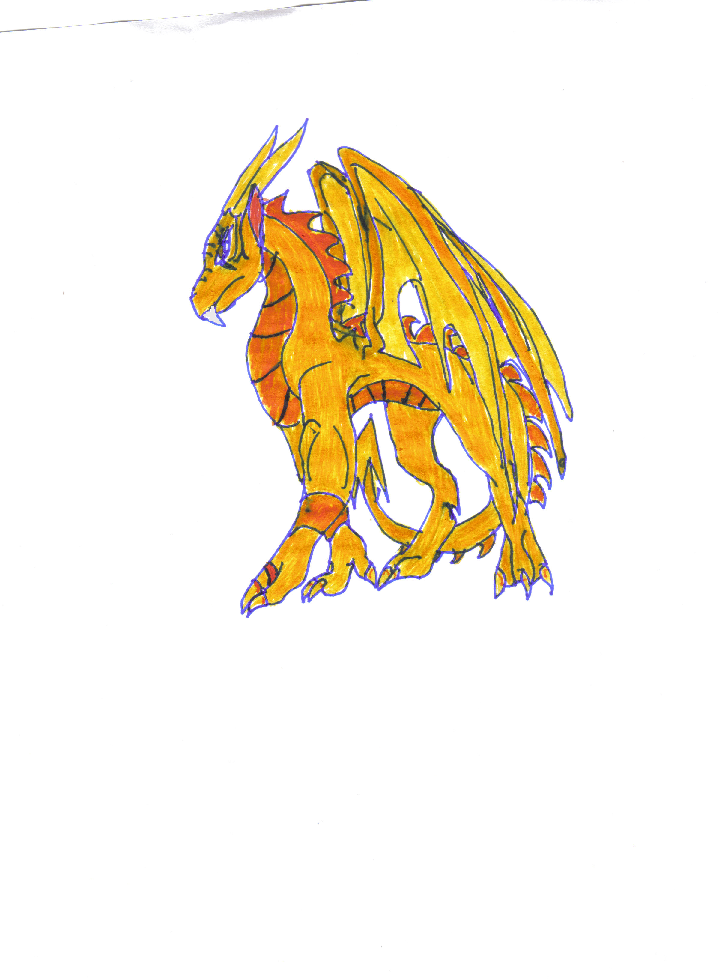 Tailan Dragon of Light by ShadowDragon06