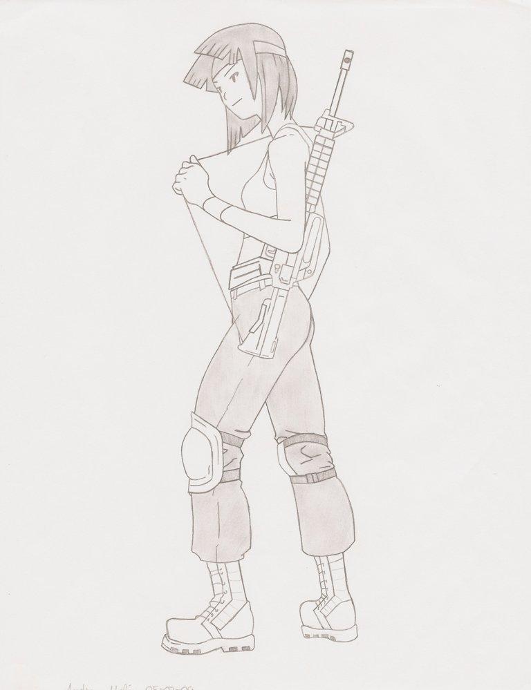 Sami - Infantry Commander by ShadowFalcon