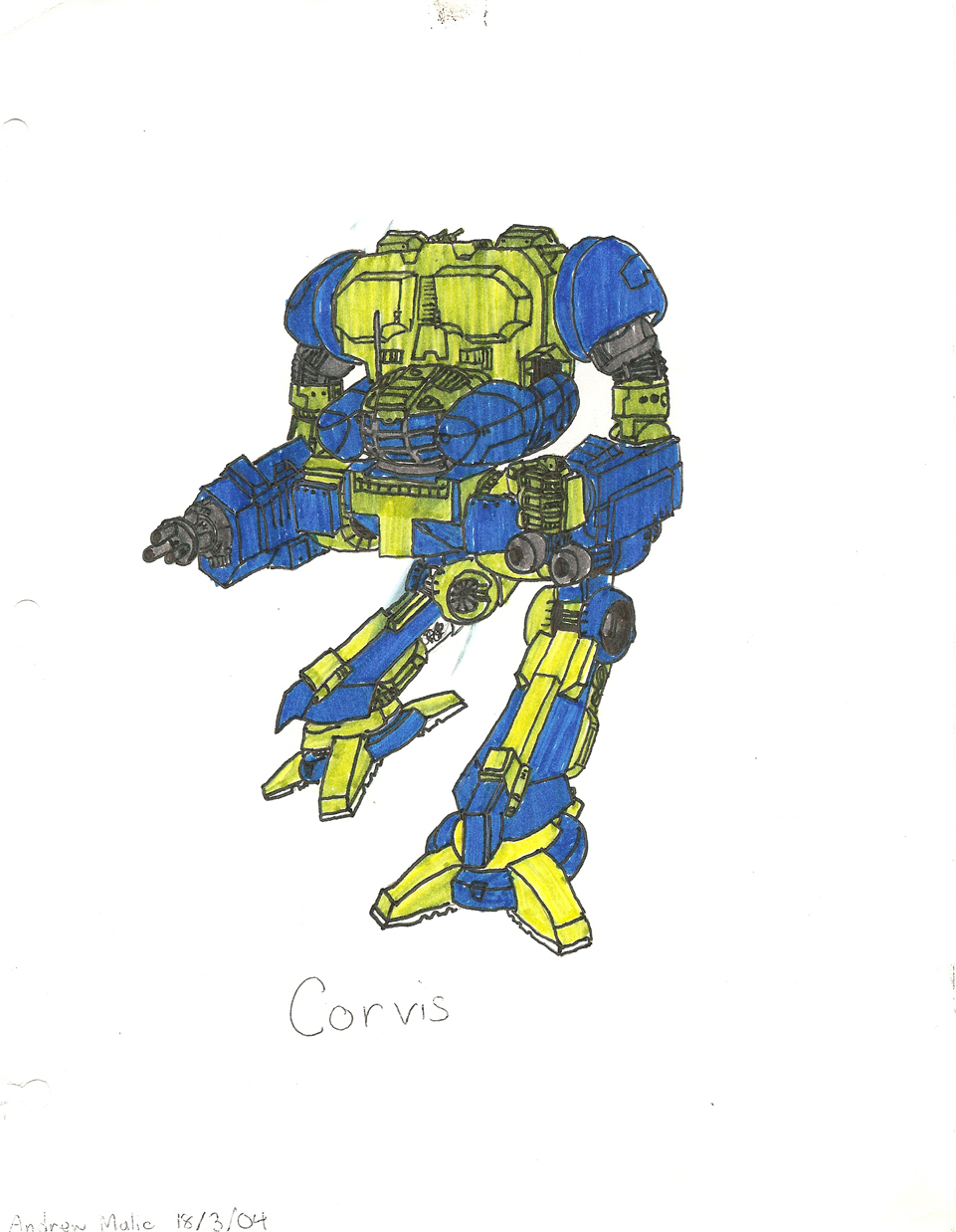 Corvis by ShadowFalcon