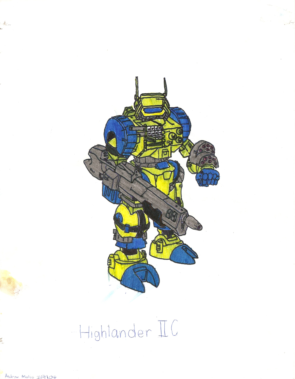 Highlander IIC by ShadowFalcon