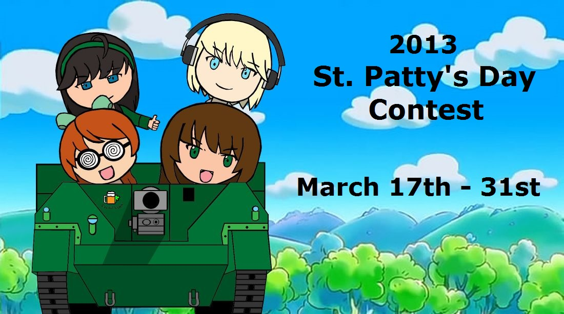 FAC St. Patty's Day Contest (2013) by ShadowFalcon