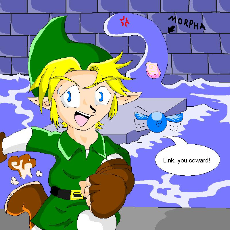 Link vs. Morpha by ShadowLink_350
