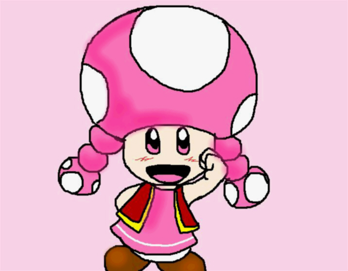Toadette by ShadowLink_350