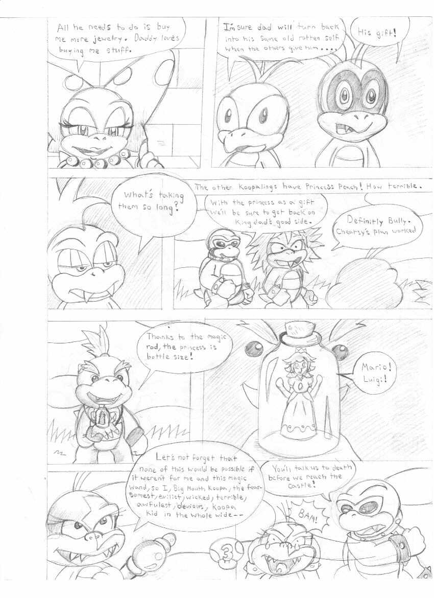 The 8 Koopa Kids pg. 3 by ShadowLink_350