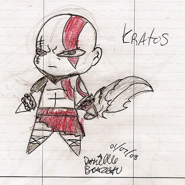 Kratos by ShadowMagic
