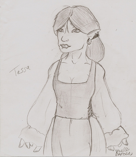 Tessa by ShadowMagic
