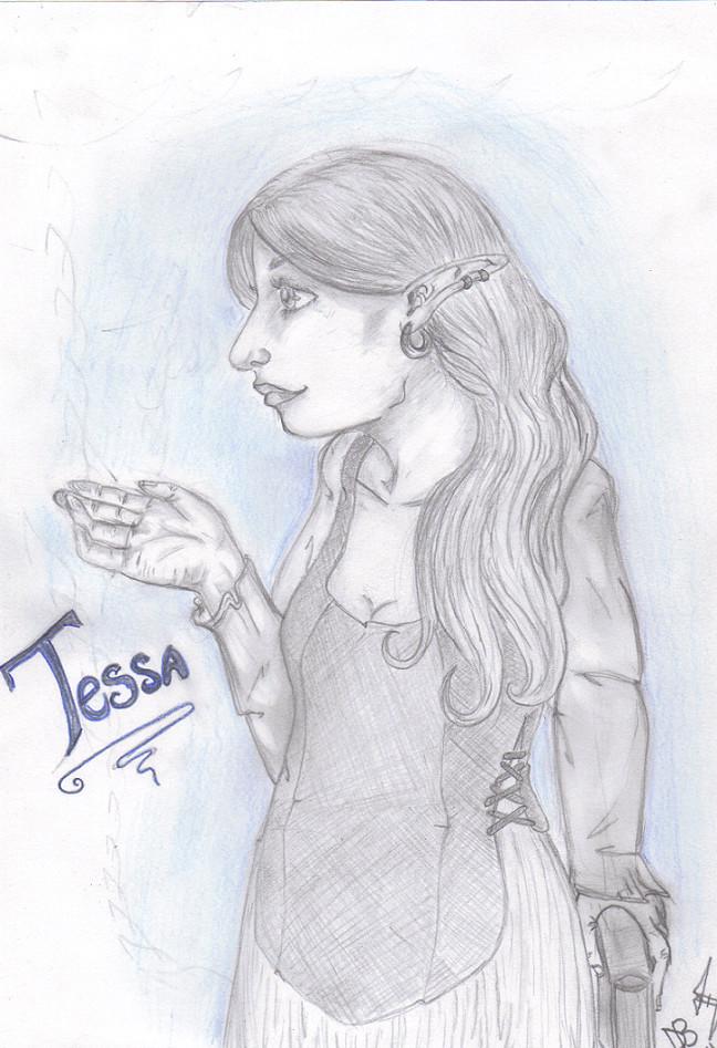 Portrait of Tessa by ShadowMagic