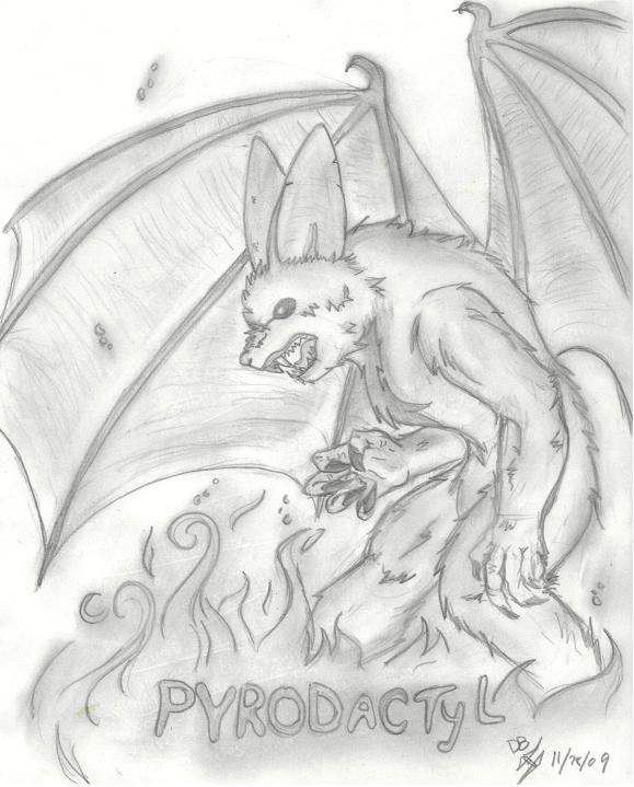 Pyrodactyl by ShadowMagic