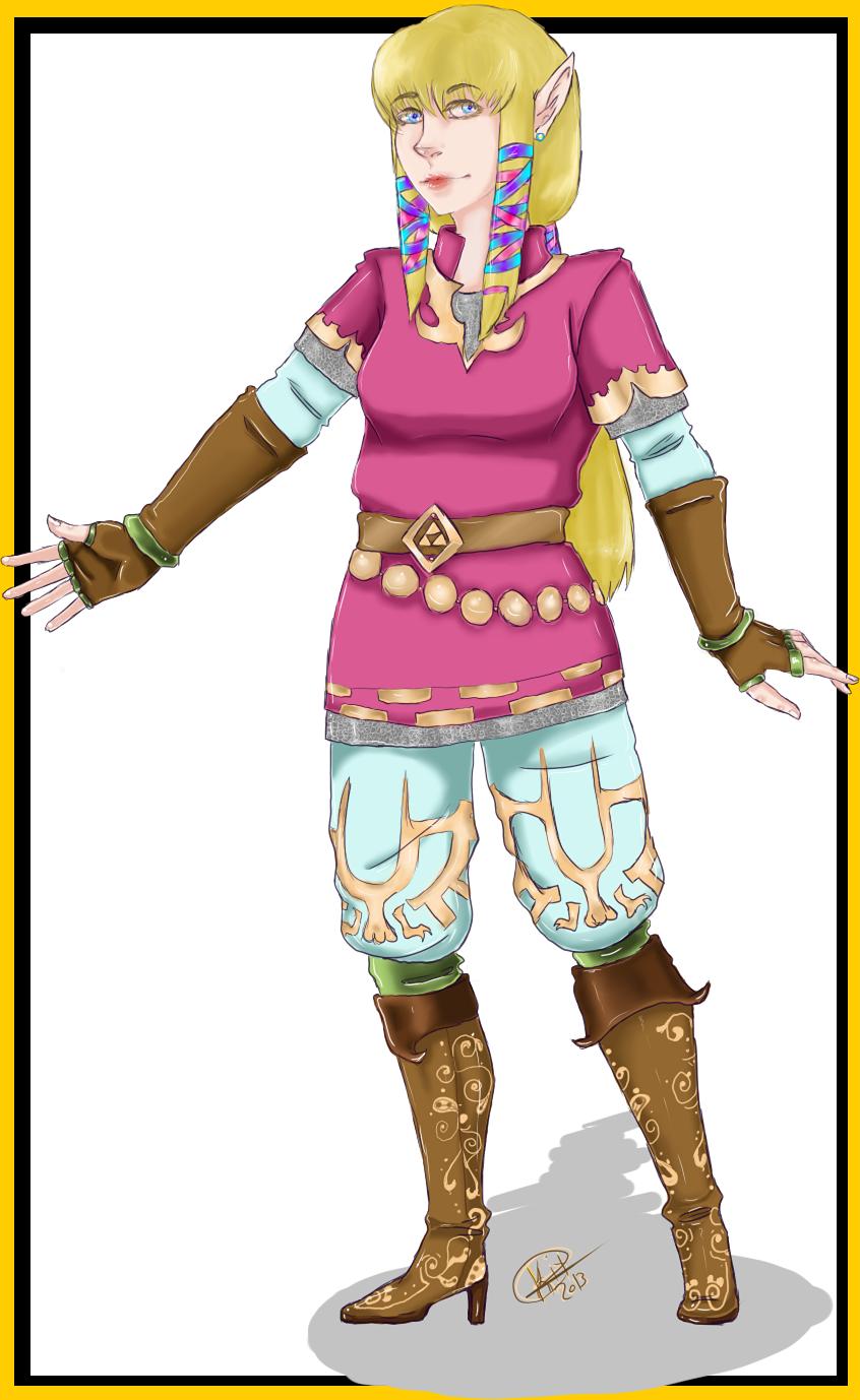 Zelda: Knight uniform. by ShadowPrincess