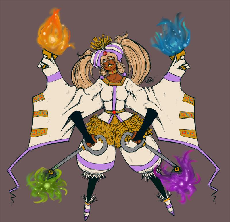 My Queen :colour: by ShadowPrincess