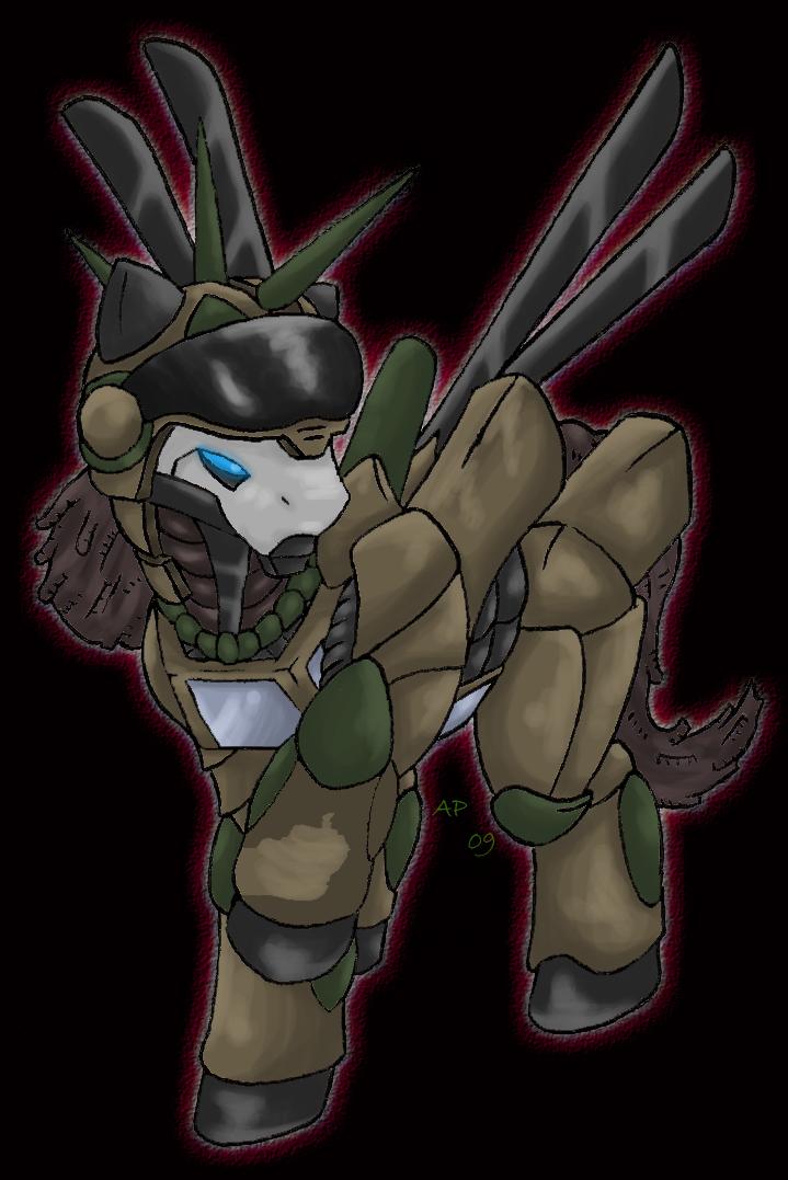 Deadmetal Is Not Amused by ShadowSpyro