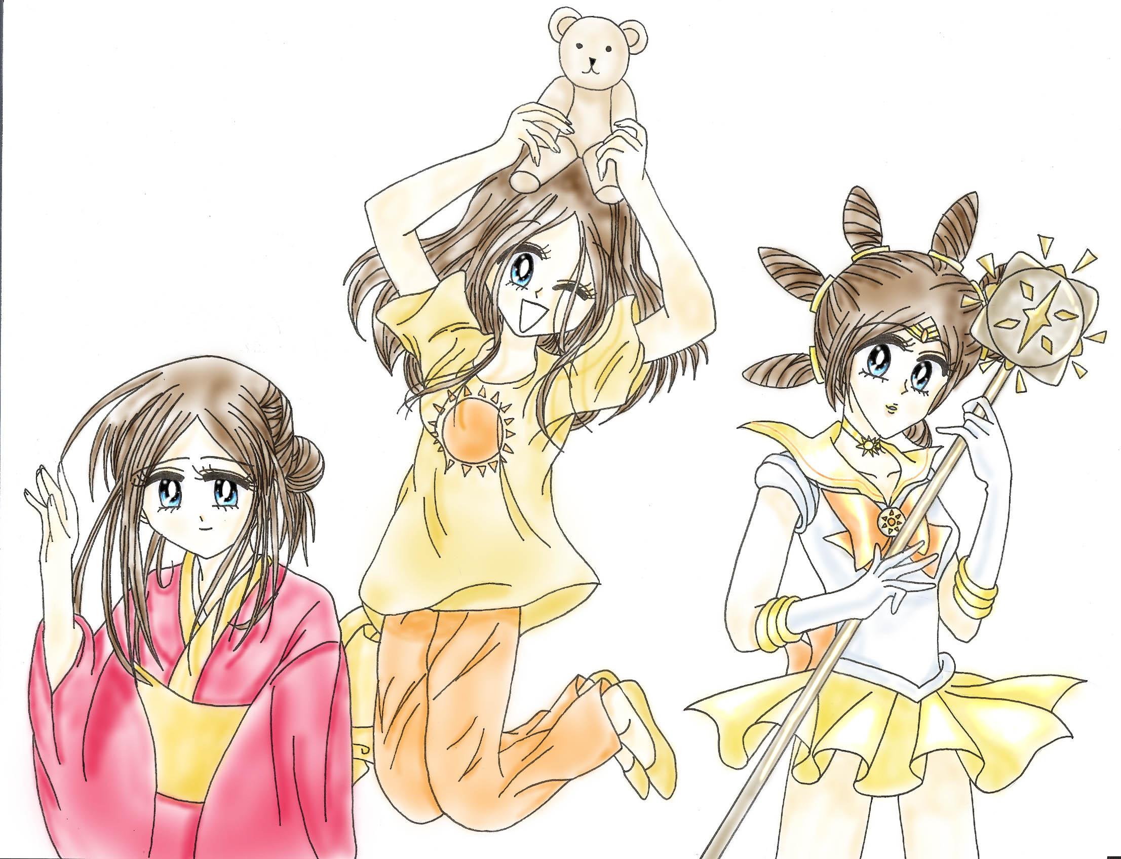 Sailor Sun - Trinity by Shadowlover8