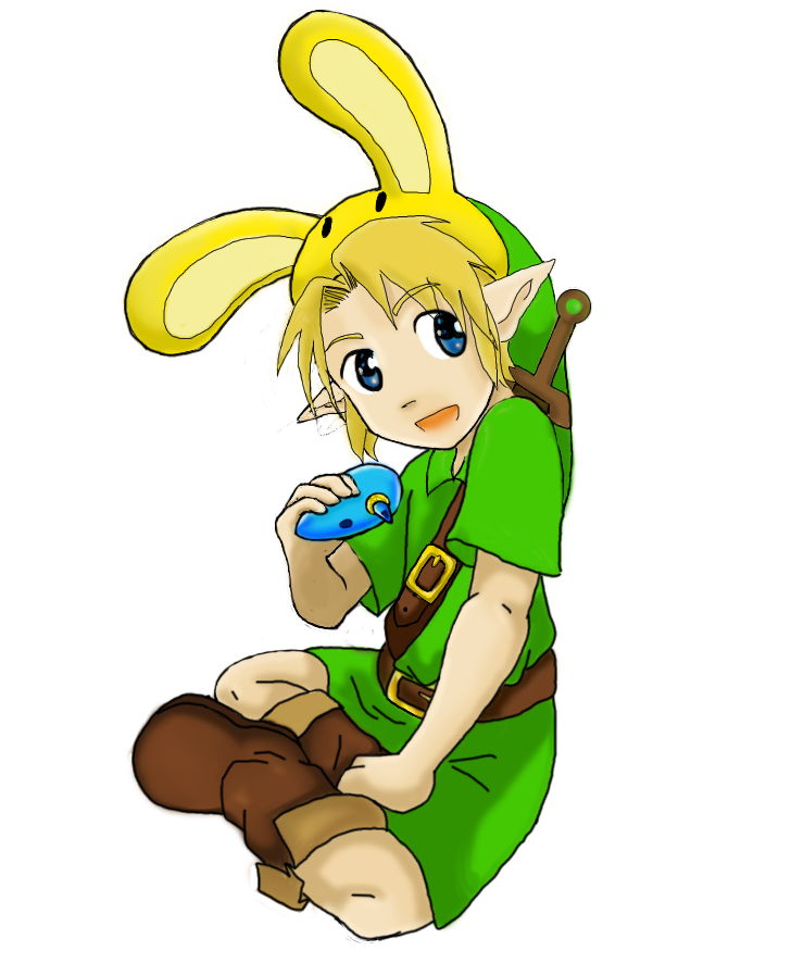 Young Link by Shadowthe_hedgehog
