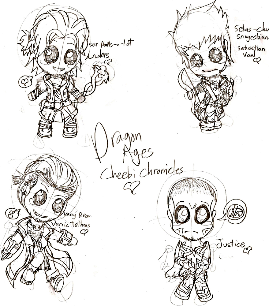 Dragon Age Cheebis!(Pt.1) by ShadzGirl
