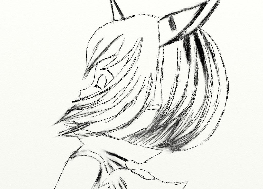 a fast Eiko sketch by Shalafi