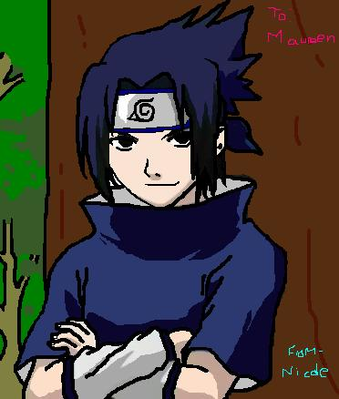SaSuKe!!!!!!!(To. Maureen) by ShamanQueen1101