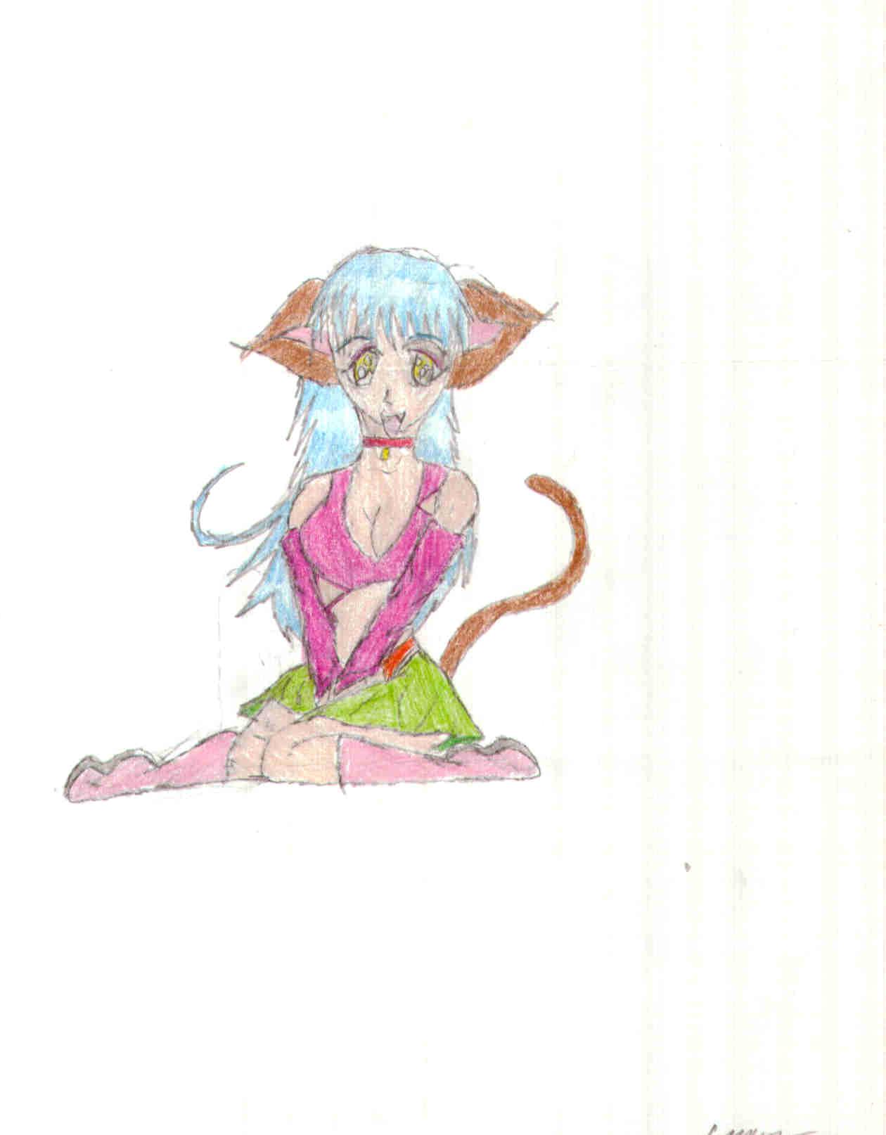 Kitty Girl by Shina109