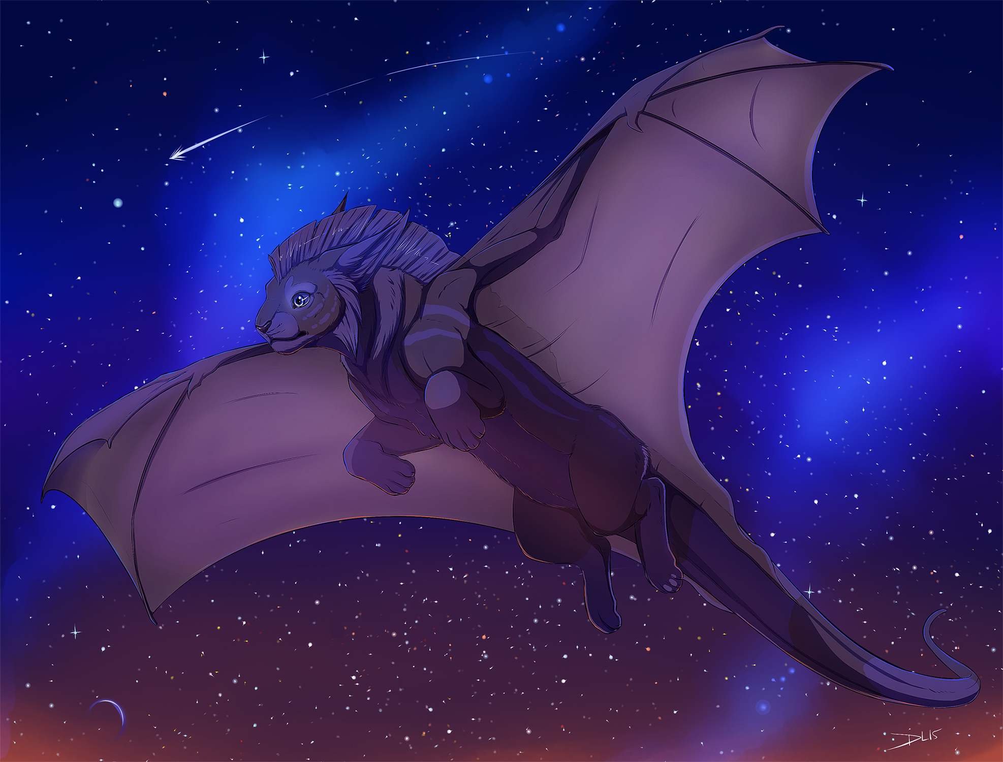Surian Night Flight by ShowNoMercy