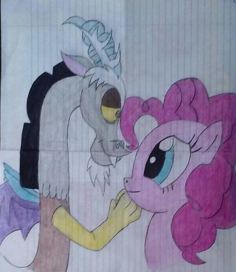 Discord x Pinkie by ShyLily2000