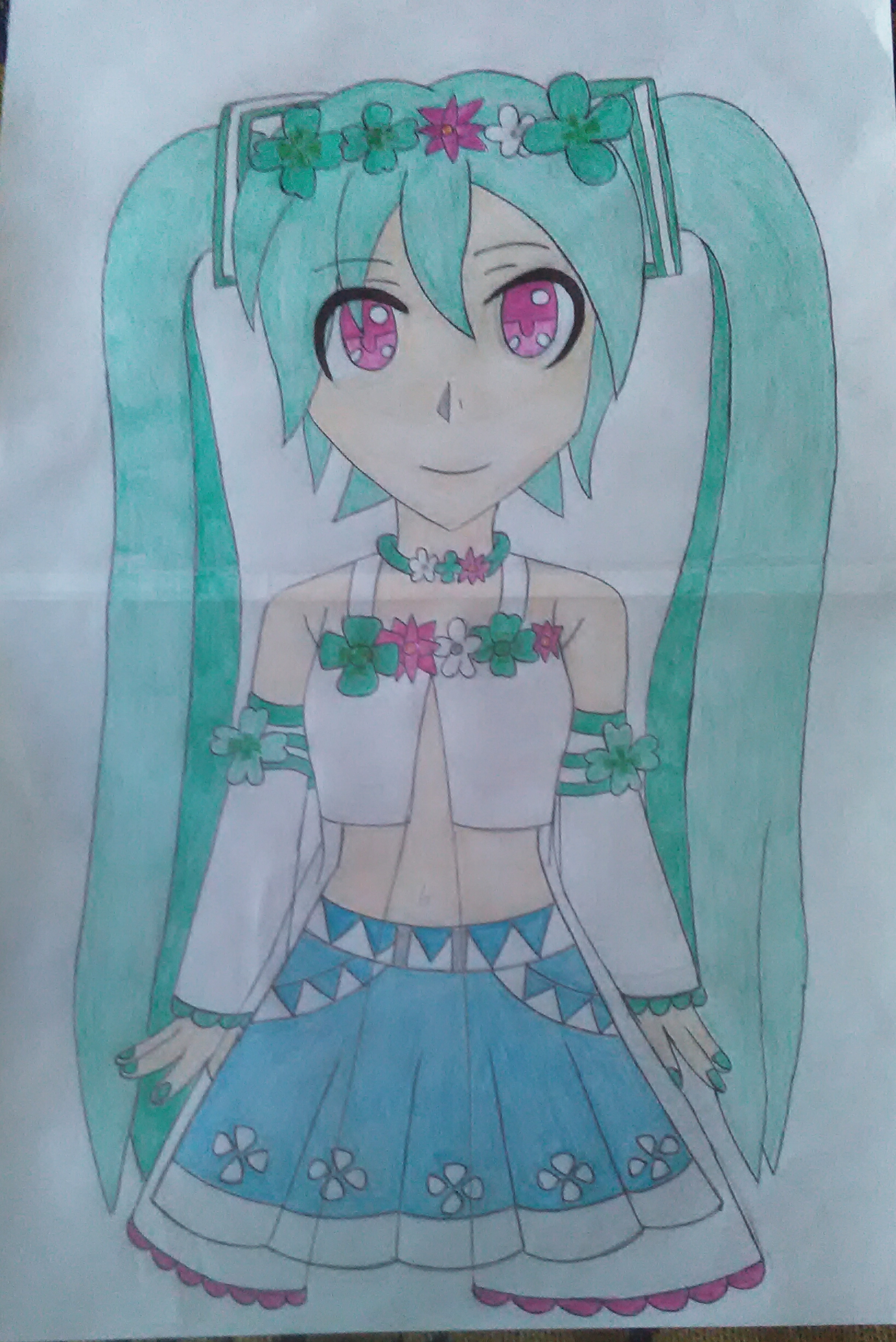 Miku by ShyLily2000