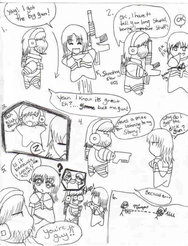 MGS2 Comic by Siberian_Tiger