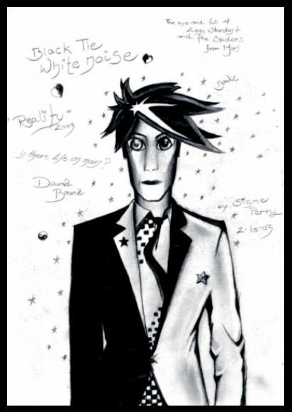 David Bowie by SignePerry