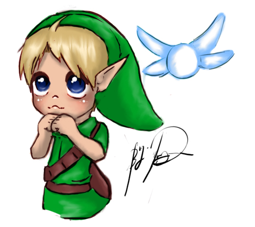 lil' Link by SilentSKys