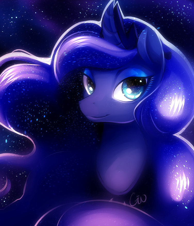 Princess Luna by Silver_Moon