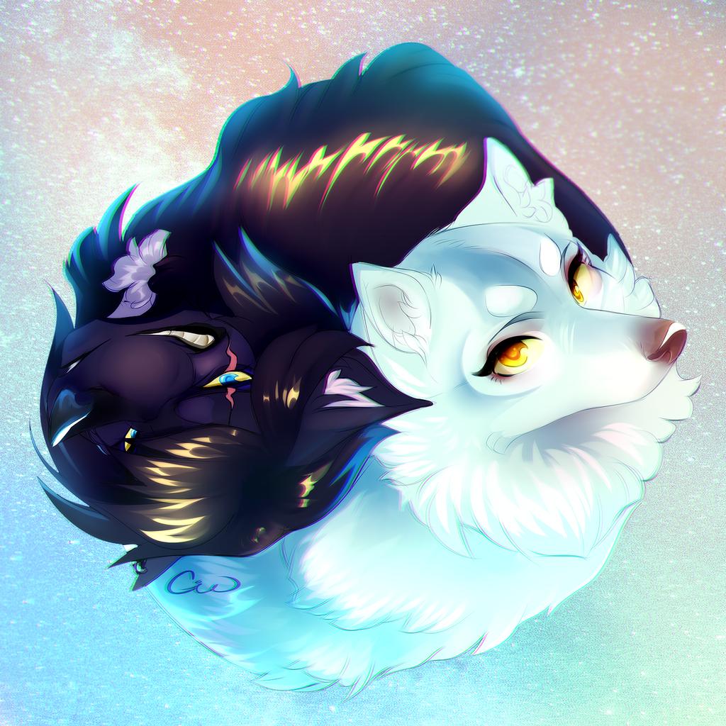 Yin & Yang by Silver_Moon
