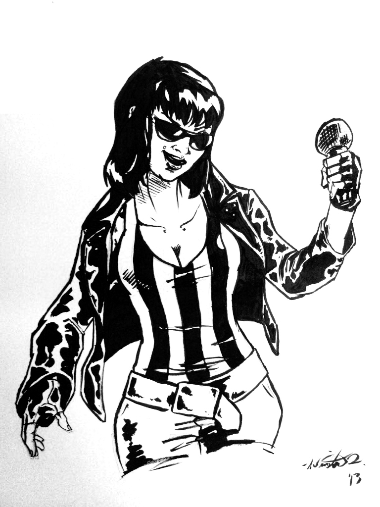 Alexis Krauss from Sleigh Bells by SirRule