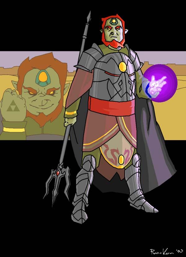 Ganon: Power by Sir_Dragonairic