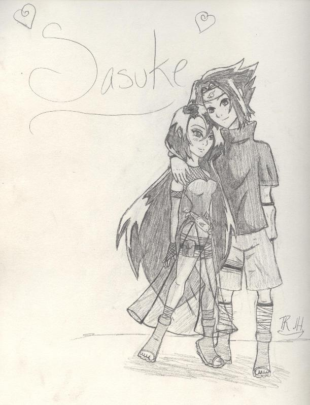 Sasuke and Marina by Sirengina
