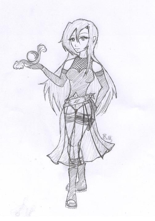 My Naruto OC - Marina by Sirengina