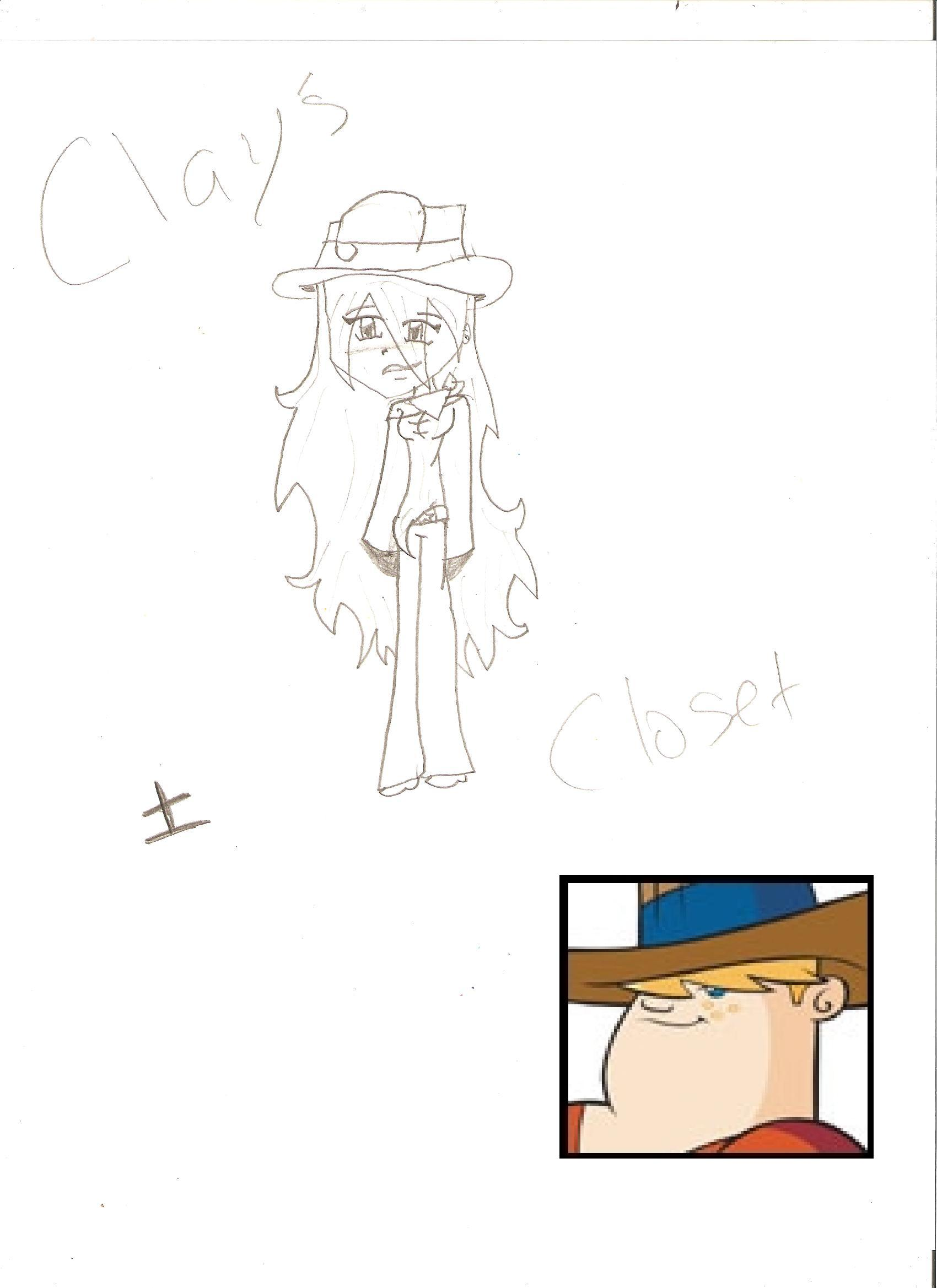 Clay's Closet by SkyGirl