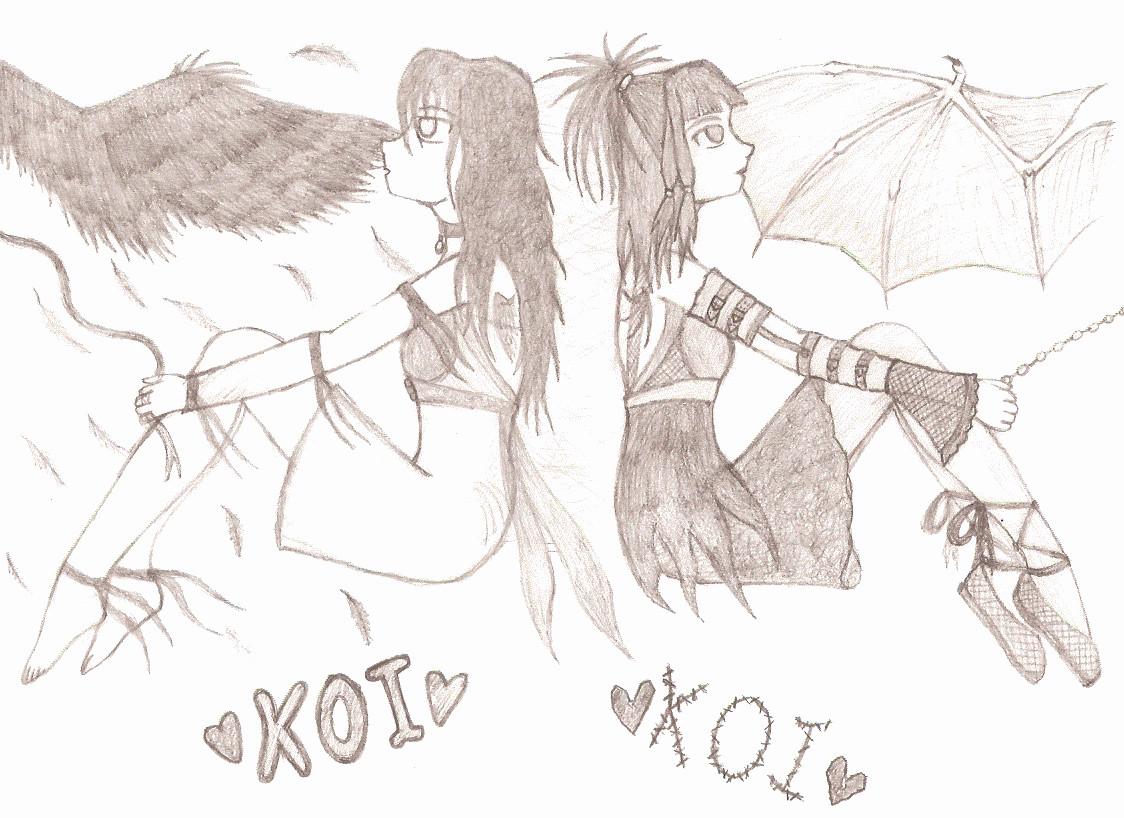 Koi by Slifer_Girl_2308