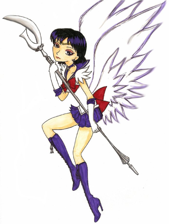 Winged Sailor Saturn by Sliv