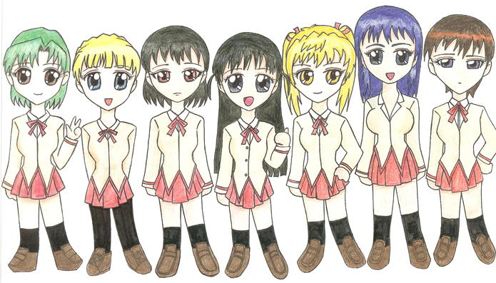 School Rumble Girls by Sliv