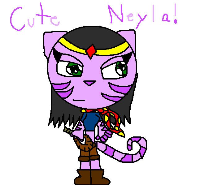 Cute Neyla by SlyBandicoot185