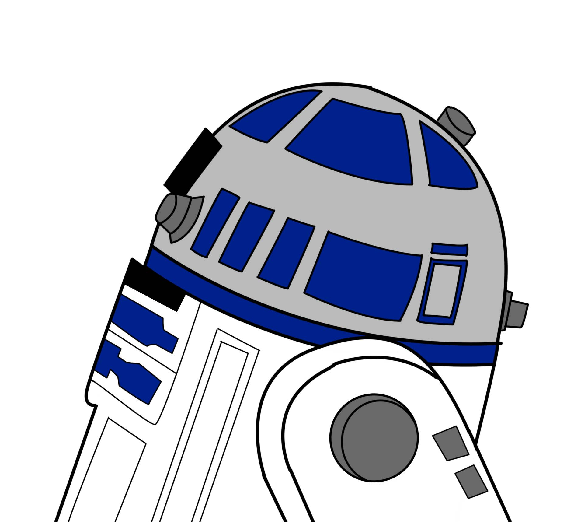 R2D2 by SnapyWapy