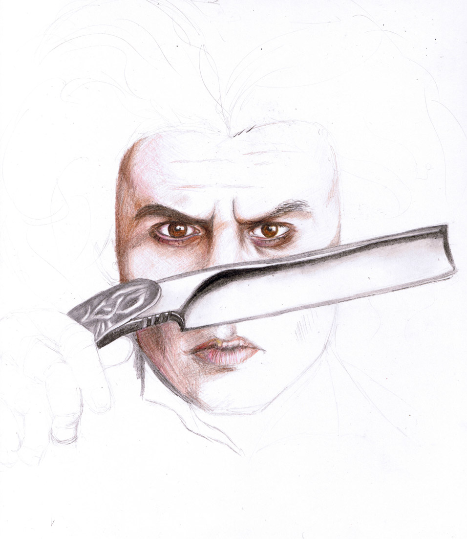 Sweeney Todd WIP by SnapyWapy