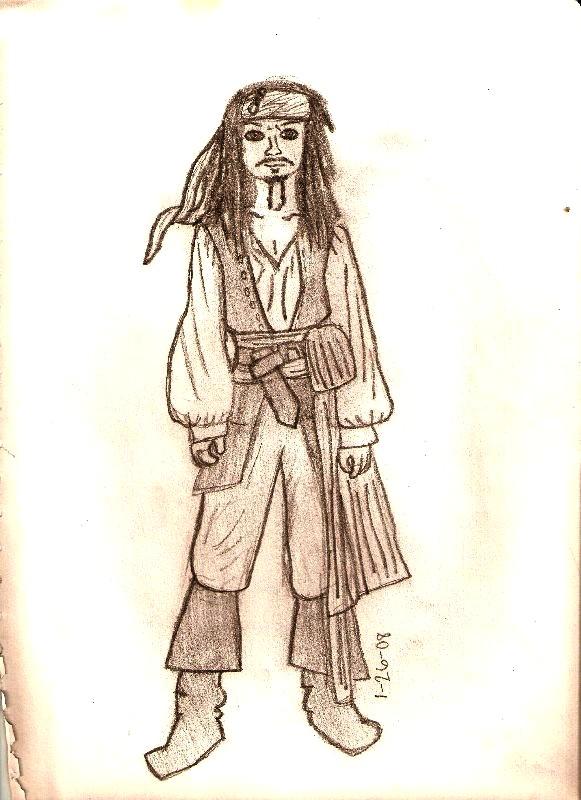 Jack Sparrow by SnazzyNeec3