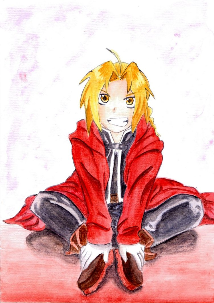 Edward Elric by SofeSmity