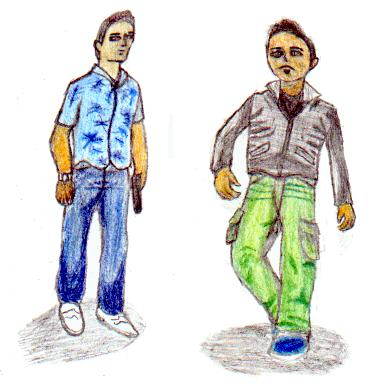 The Grand Theft Auto Guys(colour) by Solid_S_N_A_K_E