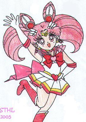 Another pici of Sailor Mini Moon by Soniathehedgehoglover