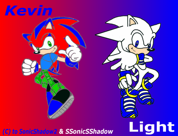 Kevin and Light- Half Done by SSonicSShadow by SonicShadow2