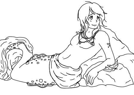 Merman Sketch by SonicWillRule