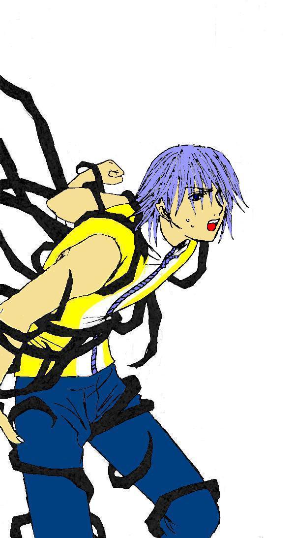 Riku bound by darkness by Sora121